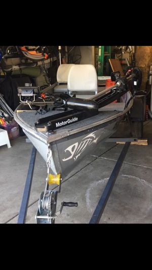 JC Penny 12' aluminum Boat and no trailer for Sale in Sacramento, CA