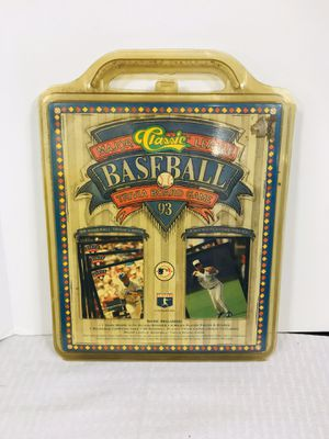 Vintage 1993 Classic Baseball Trivia Board Game for Sale in Pawtucket, RI