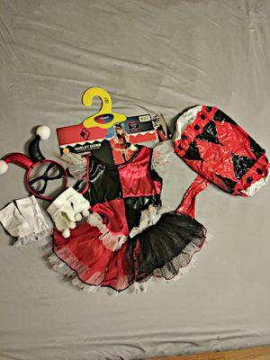 Harley Quinn costume child for Sale in Fullerton, CA