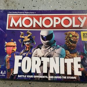 Monopoly: Fortnite Edition Board Game - Newest Edition - 27 New Characters [NEW] for Sale in Corona, CA