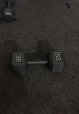 Dumbbell 35 LB Weights for Sale in Tucson, AZ