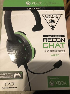 XBOX ONE TURTLE BEACH EAR FORCE RECON CHAT for Sale in West Carson, CA