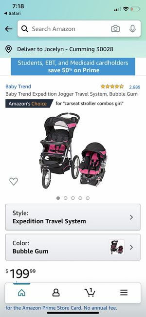 Baby trend travel system for Sale in GA, US