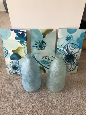 vases and picture of frames for Sale in Alexandria, VA
