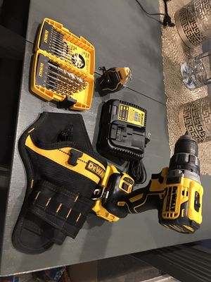 Dewalt brushless drill with 4ah battery & a few other things for Sale in Las Vegas, NV