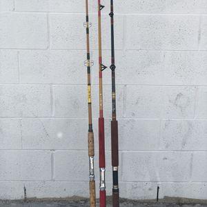 VINTAGE CUSTOM SPINNING RODS .............. ..Penn,CALSTAR for Sale in Fullerton, CA