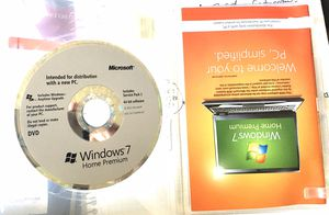 Windows 7. The one that works. for Sale in Whittier, CA