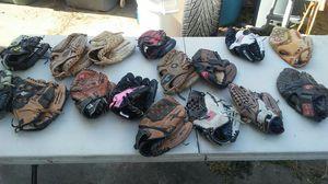 Baseball glove's for Sale in Madera, CA