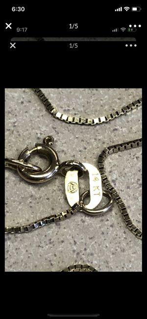 14K Women's chain 20in for Sale in Hawthorne, CA
