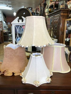 Unique vintage lamp shades $20 and up for Sale in Spring Valley, CA