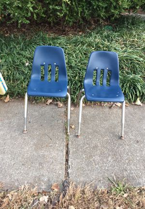 2 blue kids chairs for Sale in Norfolk, VA
