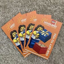 4 Legoland Tickets for Sale in Irvine, CA