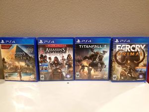 PS4 GAMES for Sale in Garland, TX