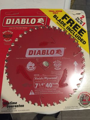 Diablo blades new 2 pack for Sale in Rancho Cucamonga, CA