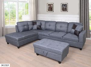 🔥New! Urban grey sofa chaise sectional set for Sale in Escondido, CA