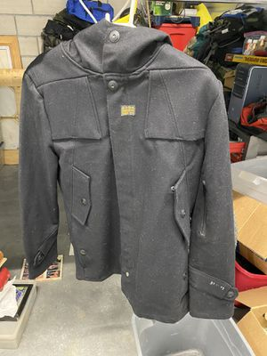 G Star 33 Gs 01 wool jacket hoodie for Sale in Buena Park, CA