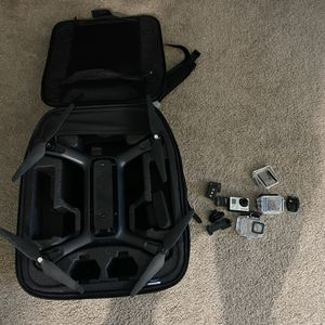 Solo 3dr drone with GoPro hero 3+ + gimbal and controller for Sale in Oceanside, CA