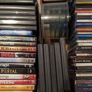 Free DVDs and CDs for Sale in Seattle, WA