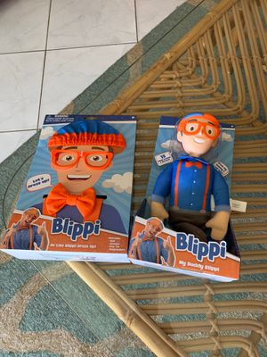 Blippi doll and costume ....new for Sale in Plantation, FL
