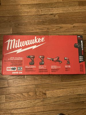 Brand new Milwaukee M18 tool set for Sale in Pottstown, PA
