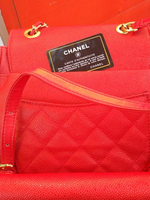 Coco chanel Red bag for Sale in Upland, CA