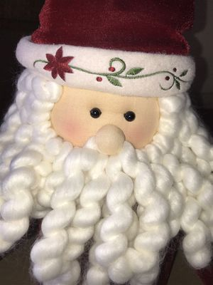 CUTE STORAGE CONTAINER SANTA CLAUS for Sale in Madera, CA