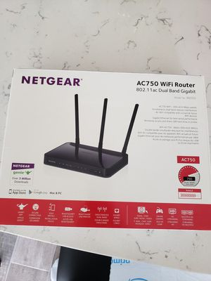 Netgear ac750 dual band router (R6050) for Sale in Pflugerville, TX