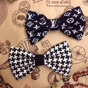 Louis vuitton and Gucci bow ties for Sale in Alexandria, VA