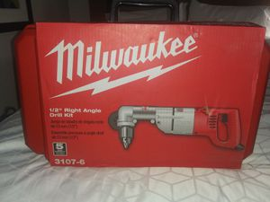 "Milwaukee 1/2"" Right Angle Drill Kit for Sale in Taylor, TX"