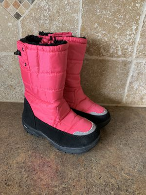 Khombu Girls snow boots size 10 for Sale in Greenacres, WA