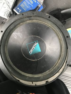 """Crystal 12"""" subwoofer for Sale in Lynnwood, WA"""
