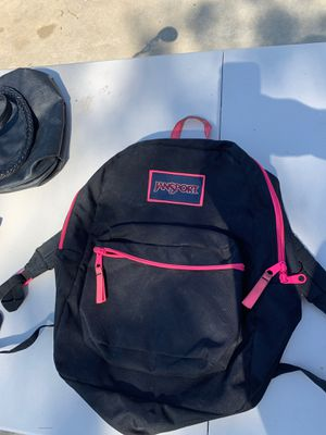 JANSPORT backpack pink for Sale in Huntington Beach, CA
