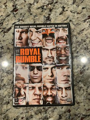 New Royal Rumble 2011 DVD for Sale in Humble, TX