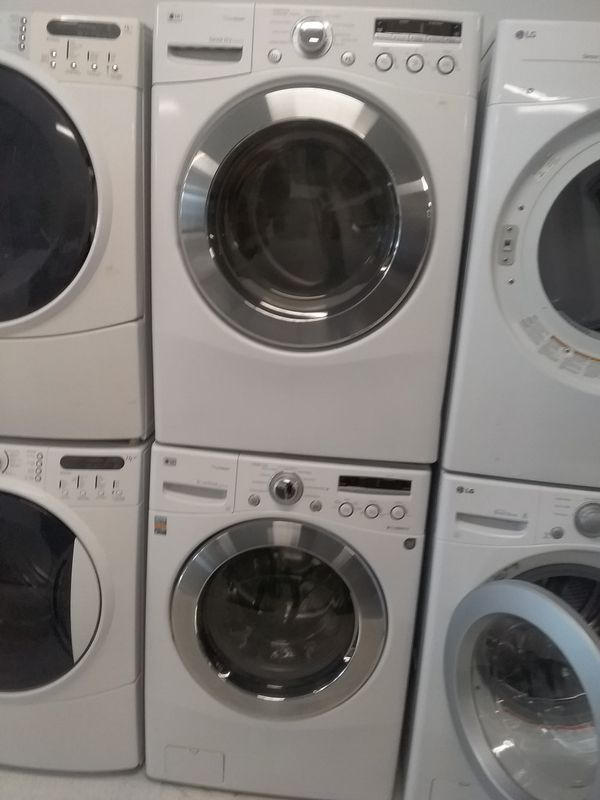 Lg washer and dryer used good condition 90days warranty