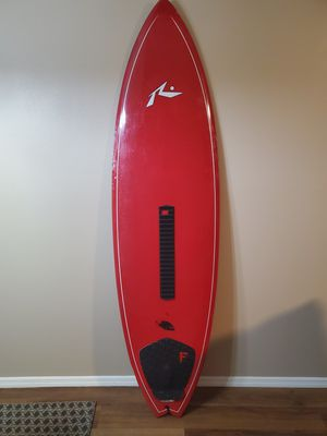 6'1 Rusty Piranha Surfboard with case for Sale in Clearwater, FL
