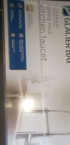 Glacier Bay kitchen faucet for Sale in Charlotte, NC