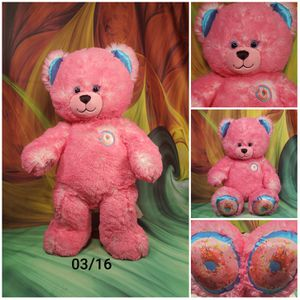 "17"" Build-A-Bear Pink Donut Sprinkles Plush Stuffed BAB Teddy for Sale in Dale, TX"