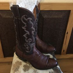 Men's Nocona western scroll stitch leather boots for Sale in Henderson,  NV