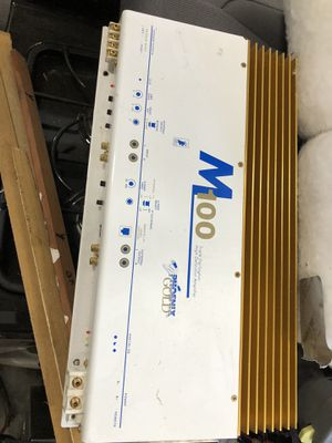 M100 Phoenix Gold Car Amp for Sale in Seattle, WA