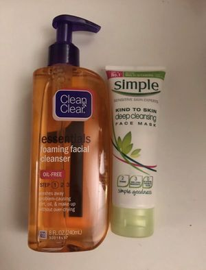 Facial cleanser lot for Sale in Tacoma, WA