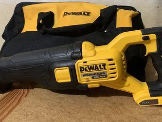 DEWALT FLEXVOLT 60-Volt MAX Cordless Brushless Reciprocating Saw (Tool Only) for Sale in Portland,  OR