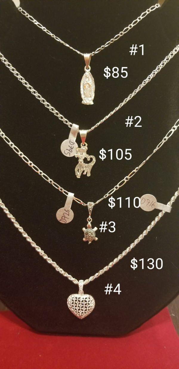 Anillos y cadenas de plata 925