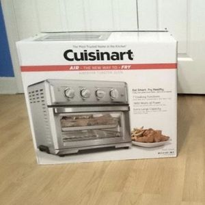 New Cuisinart AirFryer Toaster Oven - Stainless Steel - TOA-60TG for Sale in Scranton, PA
