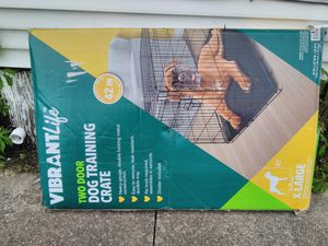 VIBRANT LITE DOG TRAINING CAGE for Sale in Sunbury, PA