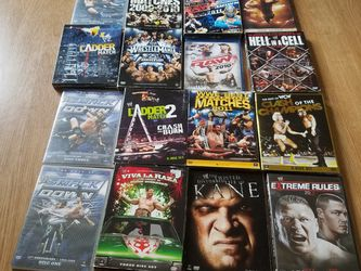 WRESTLING DVD'S for Sale in East Chicago,  IN