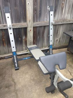 Marcy Monster Bench Press And Squat Rack for Sale in Harper Woods,  MI