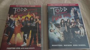Todd and the book of pure evil seasons 1 & 2 DVD for Sale in KIMBERLIN HGT, TN