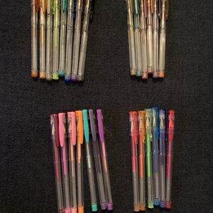 Assorted Gel Pens - Matte, Glitter, Metallic, and Neon for Sale in Anacortes, WA