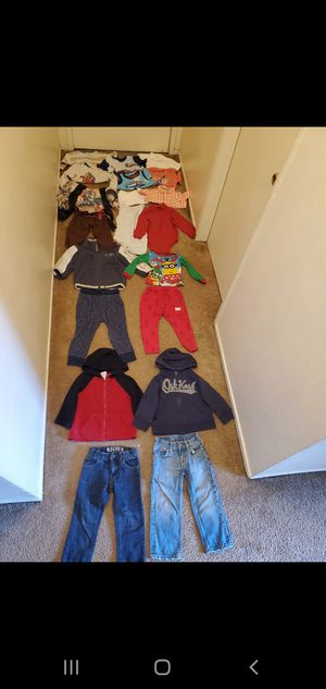 Size 2 years boy clothes for Sale in Anaheim, CA