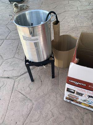 Deep Fry Burner for propane tanks for Sale in San Bernardino, CA